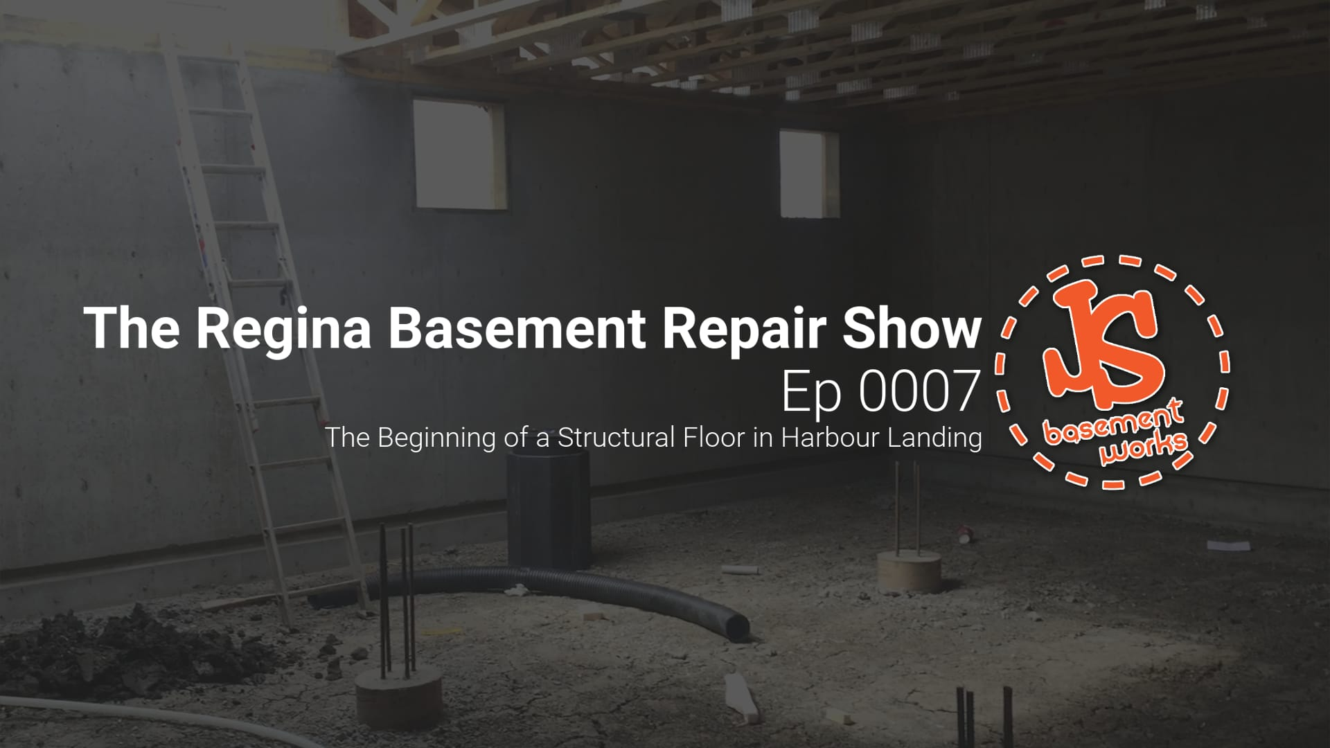 the regina basement repair show new home structural floor in harbour